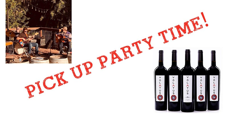 Wine Club Spring Pick Up Party